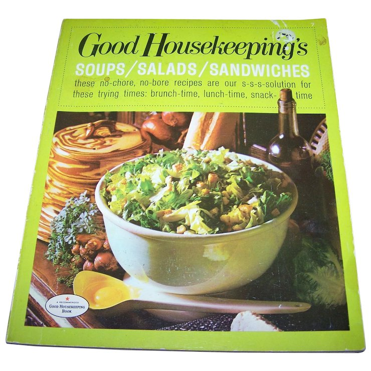 Soft cover good housekeepings soups salads sandwiches cook book soft cover good housekeepings soups salads sandwiches cook book forumfinder Choice Image