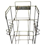 Store Display  Wire Stand for Pipes Tins Property of Imperial Tobacco Sale Company
