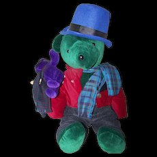 Collectible North American Bear BEARB CRATCHIT LIMITED ED with Tiny Ted & Tag