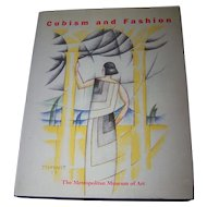 "Oversized Hard Cover Book "" Cubism and Fashion ""  The Metropolitan Museum of Art"