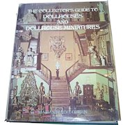 """Over Sized Hard Cover Book """" The Collector's Guide To Doll Houses And DollHouse Miniatures"""