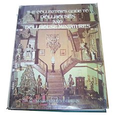 "Over Sized Hard Cover Book "" The Collector's Guide To Doll Houses And DollHouse Miniatures"