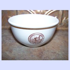 Advertising Restaurant Ware Bowl  Dartmouth Refinery  Imperial Oil Enterprises