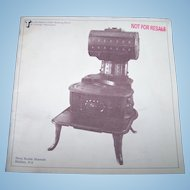 The Romance of the Heating Stove by George MacLaren Nova Scotia Museum Soft Cover Booklet