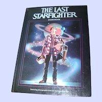 """Hard Cover Collectible Book """" The Last Star Fighter """" Storybook"""