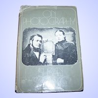 "Hard Cover Vintage Book "" On Photography"" by Susan Sontag"