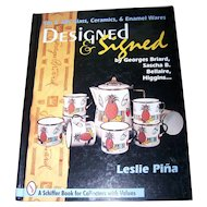 Designed & Signed Hardcover  Collector's Reference Book  –1996 by Leslie Piña (Author)