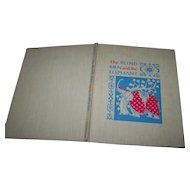 """Hard Cover Vintage Book """" The Blind Men and the Elephant """"  An Old Tale From The Land of India"""