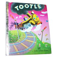 Tootle A Little Golden Book  By Gertrude Crampton Choo Choo