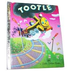 Tootle A Little Golden Book  By Gertrude Crampton Choo Choo