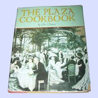The Plaza Cook Book By  Eve Brown Recipes Plaza Hotel New York City USA