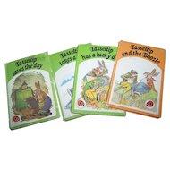 4 Vintage Hard Cover Lady Bird Limited  Children's Books Tasseltip