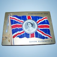 Advertising Royalty Coronation Tin 1953 Queen Elizabeth II MacDonald 's Export Tobacco Cigarette Case