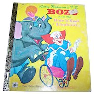 Larry Harmon's BOZO and the Hide 'n' Seek Elephant Clown Children's Book