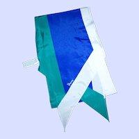 Lovely Long Wing Tip Designer Signed Vera ( Neumann )  Scarf