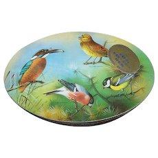Advertising Carr's Biscuit Ornithology BIRD WATCHING TIN British Birding