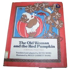A Ex-Libra Children's Book The Old Woman and the Red Pumpkin: A Bengali Folk Tale