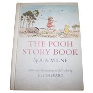 "Hard Cover Children's Book "" The POOH Story Book "" A.A. Milne"