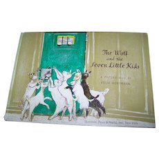 The Wolf and the Seven Little Kids A Story by the Brothers Grimm Illustrated Children's Book