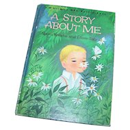 """A Whitman Big Tell-a-Tale """" A Story About Me """"  Norma  Knoche  and  Eileen Daly"""
