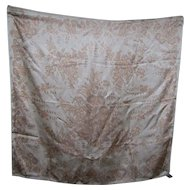 Beautiful Smithsonian Institution 100% Silk Scarf Fashion Accessory Wearable ART