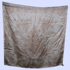 Beautiful Smithsonian Institution 100% Silk Scarf Fashion Accessory Wearable ART