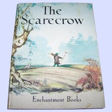 Small Hard Cover Children's The Scarecrow Thomas Nelson and Sons Reader