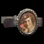 Sweet Little Delicate  Portrait  Photograph of a Pretty Lady Tie Clip