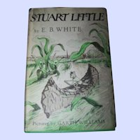 A Collectible Vintage Childrens Book Stuart  Little by E.B. White Copyright 1945 Pictures by Garth Williams