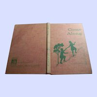 "Vintage Hard Cover Children's Basic Reader "" Come Along "" by Hannah Ikeda Lai and Al Tudyman"