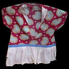 Sweet Vintage  Mid-Century Novelty Clothing Style Clothes Pin Storage Holder