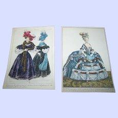 A Charming Vintage Ladies Fashion Paper Prints Print Lot Home Decor Wall ART