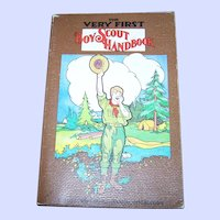 """Soft Cover Book """" The Very First Boy Scout Hand Book """" Official Reprint of Original 1911 Edition"""