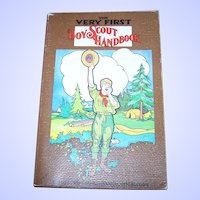 "Soft Cover Book "" The Very First Boy Scout Hand Book "" Official Reprint of Original 1911 Edition"