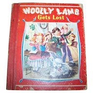 Charming Little Hard Cover Childrens  Book  Woolly Lamb Gets Lost and Other Stories