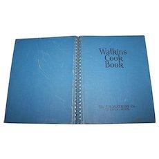 Watkins Cook Book   J R Watkins Winona MN Wire-O-Binding  Great Recipes