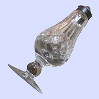 Vintage Waterford Crystal LISMORE Pattern Footed  Shaker Signed