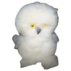 Vintage Souvenir Collectible Inuit Handicraft Arctic Snowy Owl OOKPIK
