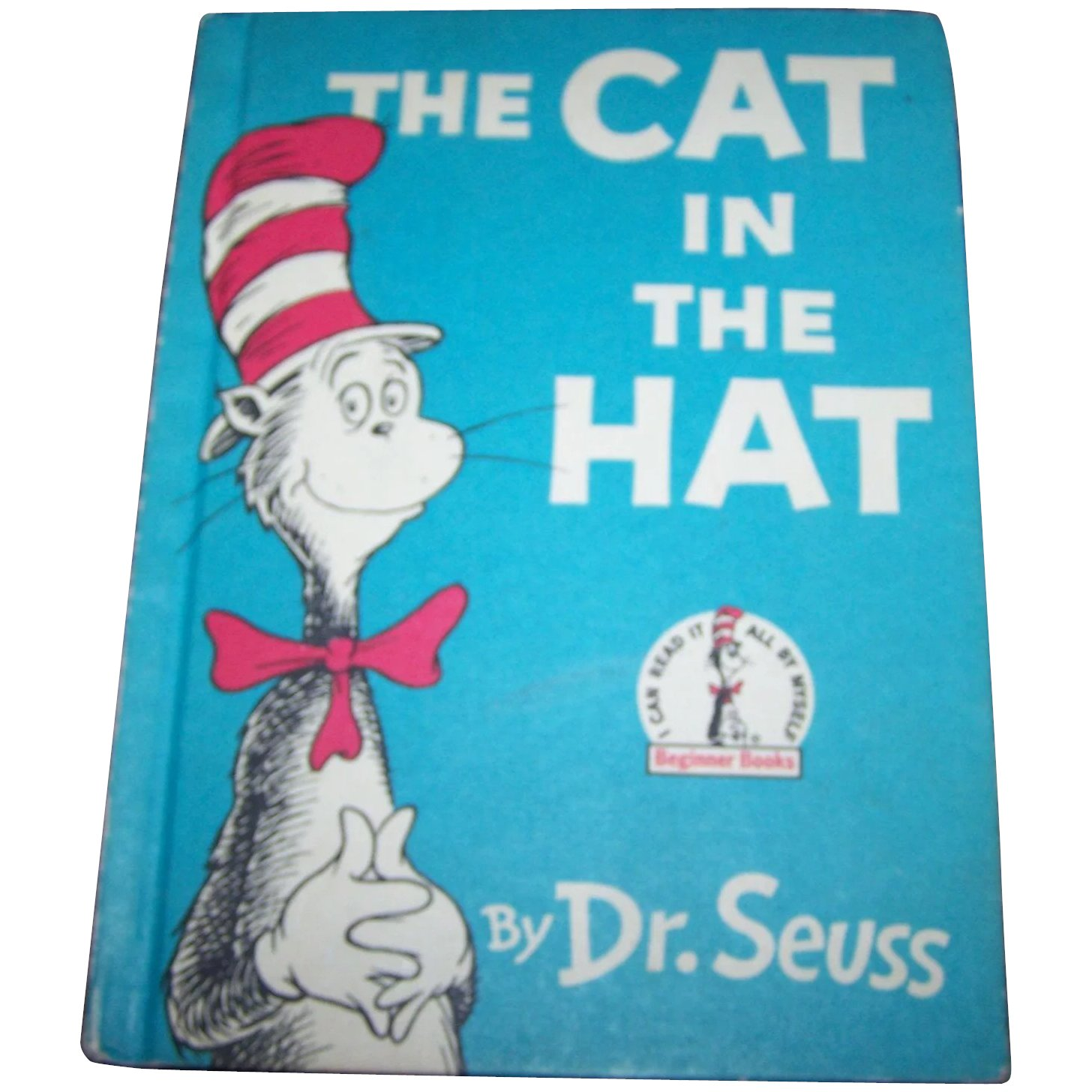 Cat In The Hat Book Jacket Full