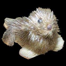 Small Holman Handmade by Eskimos  Seal Toy 60's Era Canadian Souvenir Northwest Territories