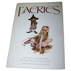 Over Sized Hard Cover Book Faeries Charming Illustrations
