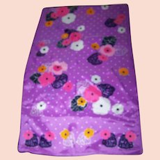 What A Charming Long Rectangular Ladies Floral Fashion Scarf