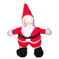 Vintage  Christmas Stuffed Plush 24 Inch Santa Claus Premier Toy Mfg Canada Toronto