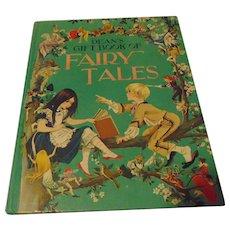 Children's Book Dean's Gift Book Of Fairy Tales C. 1967 Dean & Sons LTD