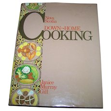 Canadian  Cook Book By Janice Murray Gill Nova Scotia Down Home Cooking