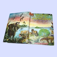 Hard Cover Children's Guide To Knowledge Book Wonders of Nature Illustrated