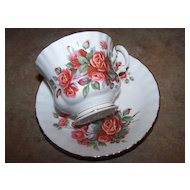 Royal Albert Centennial Rose Tea Cup & Saucer