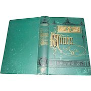 Hard Cover Fabulous Cover Book The Poetical Works of Thomas Moore Dated 1884