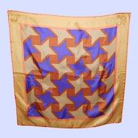 A Great Op Art Waterproof Polyester Fashion Scarf Wearable  or Framable ART
