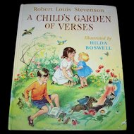 Robert Louis Stevenson A Child's Garden Of Verses Illustrated by Hilda Boswell Children's Book